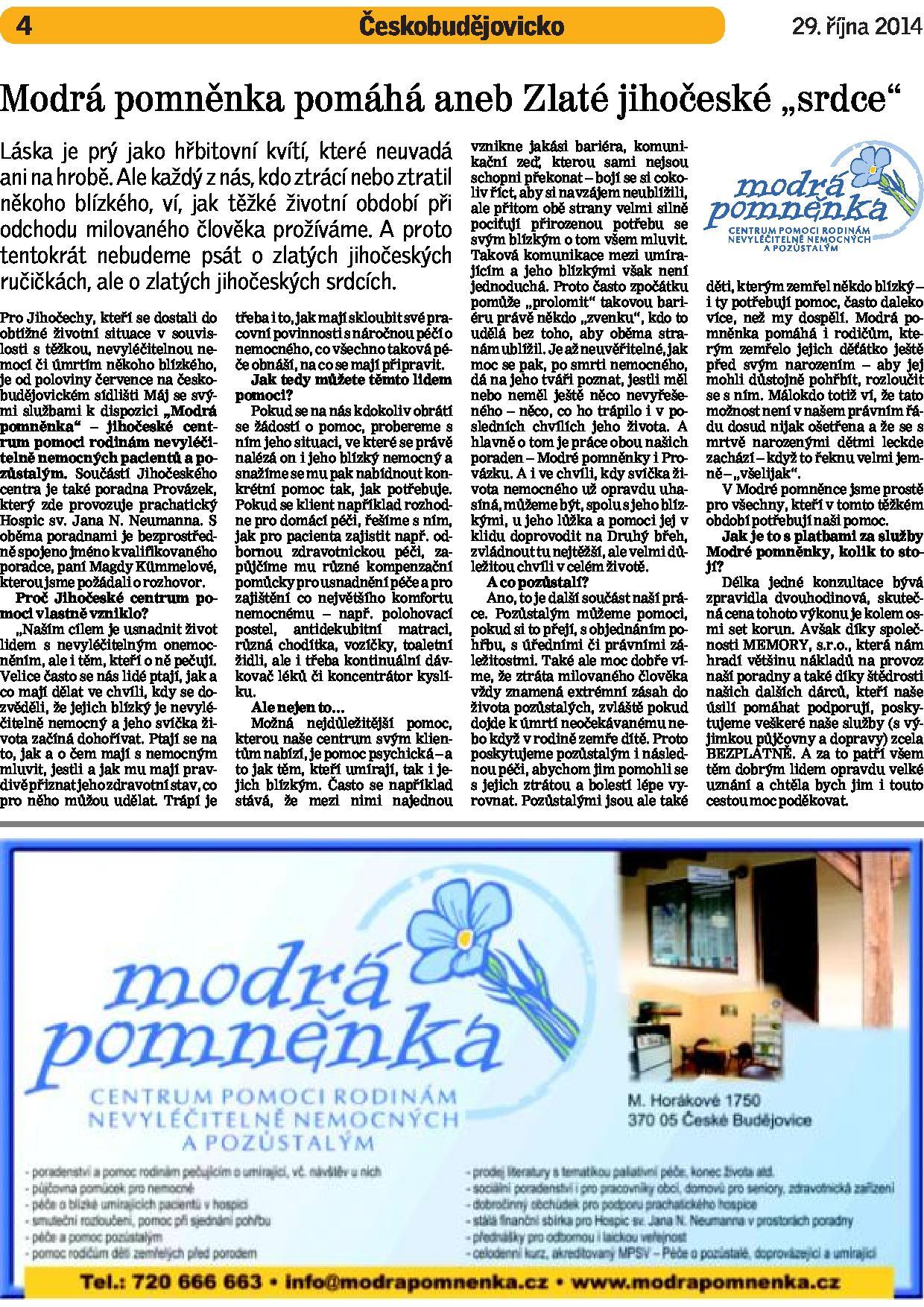 Denik_modra_pomnenka_Zlate_srdce